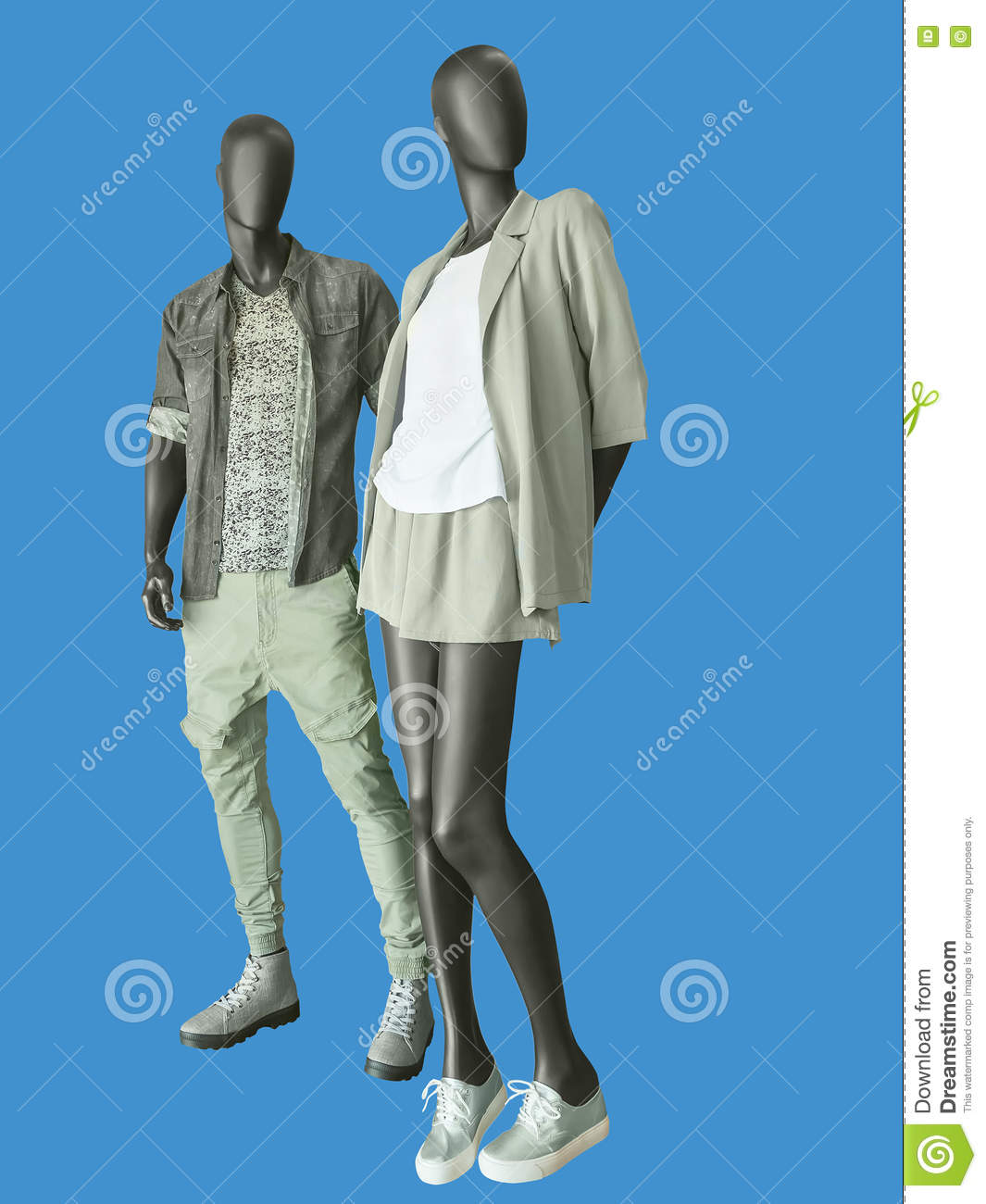 Two Male Mannequins Royalty-Free Stock Photo ...