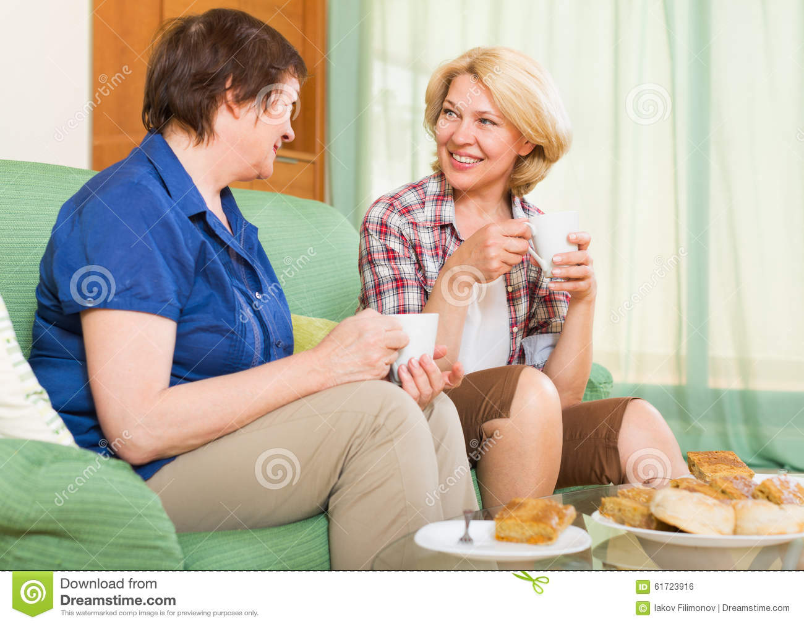 Ordinary mature women