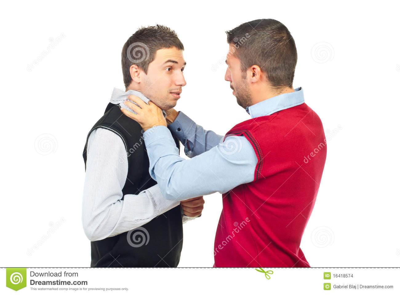 Two men fighting stock photo. Image of strangle, friends ...