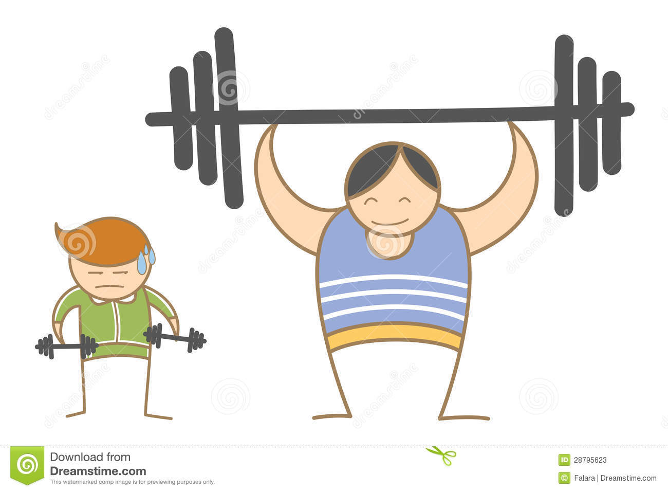 Boy And Girl On Swing Clipart