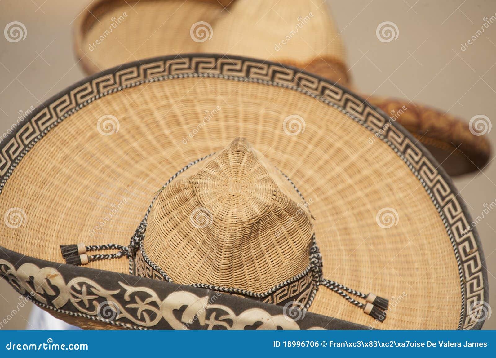 Download Two Mexican Charros Sombreros, TX, US Stock Photo - Image of sombreros, tassles: 18996706