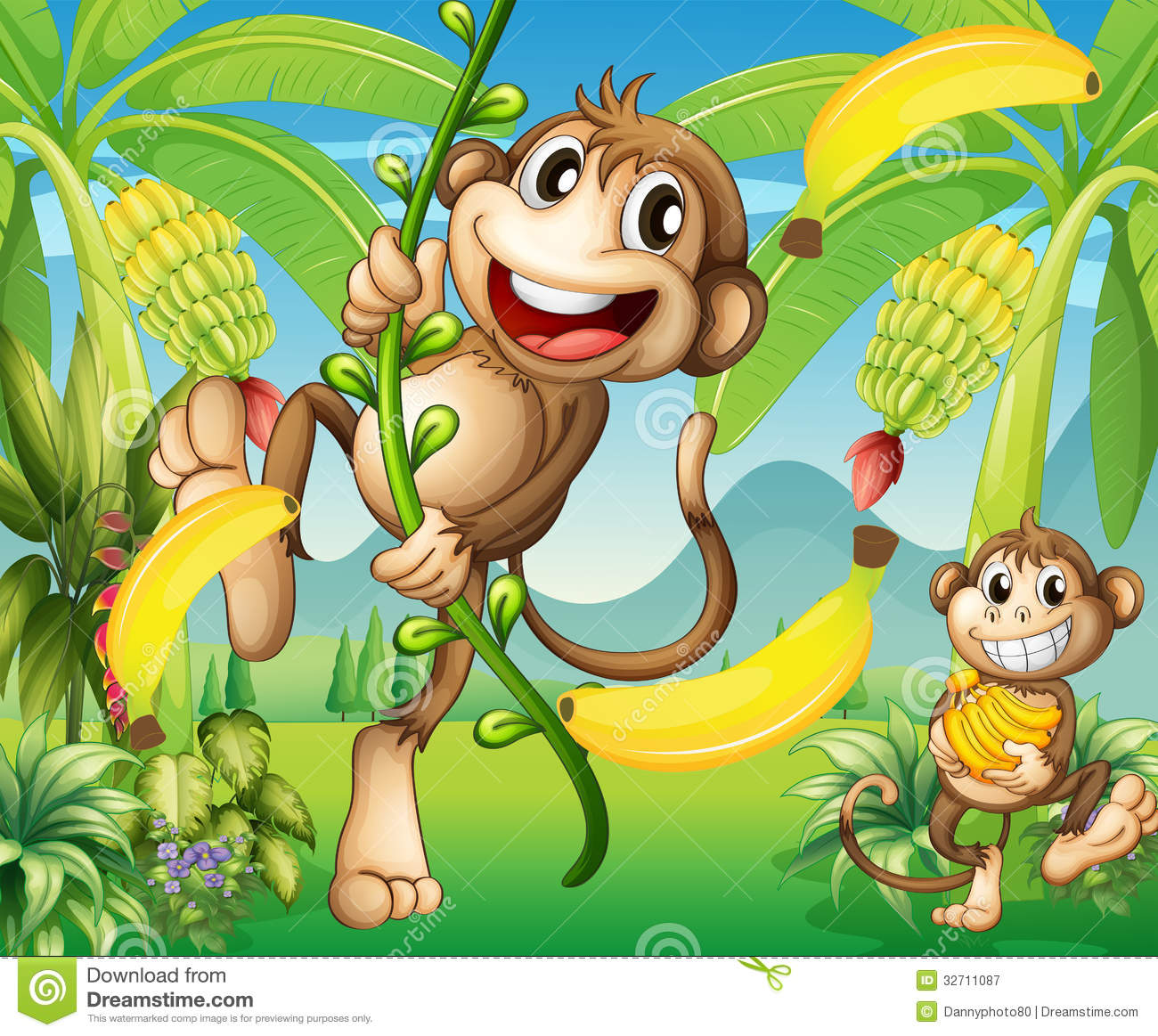 Monkey Swinging Images amp Stock Pictures Royalty Free