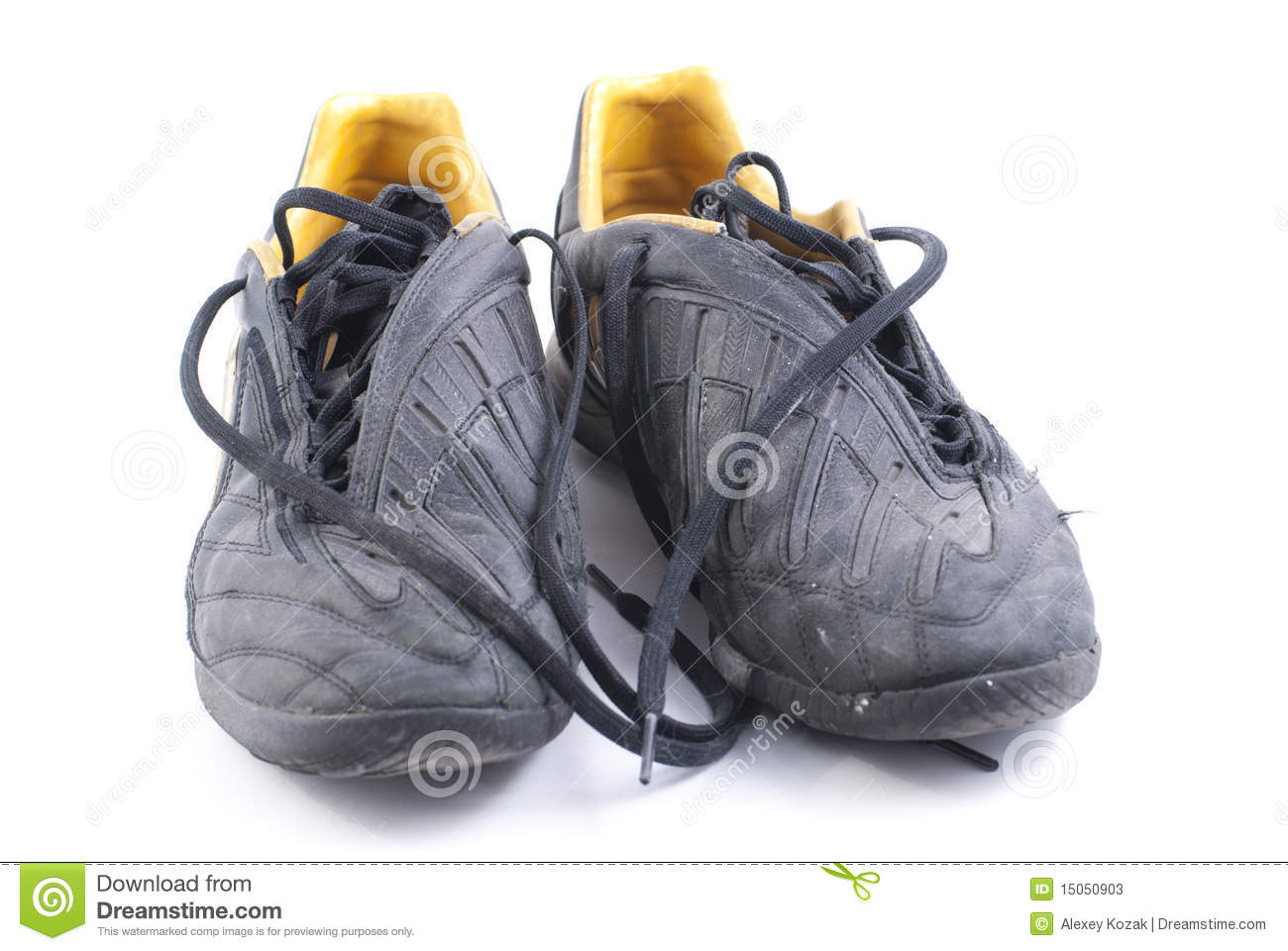 e14da74f4 Two old black shoes stock image. Image of game, footwear - 15050903