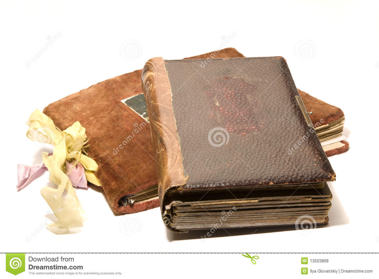 Albums: Two Old Photo Albums Stock Photo. Image Of Revival, Photo