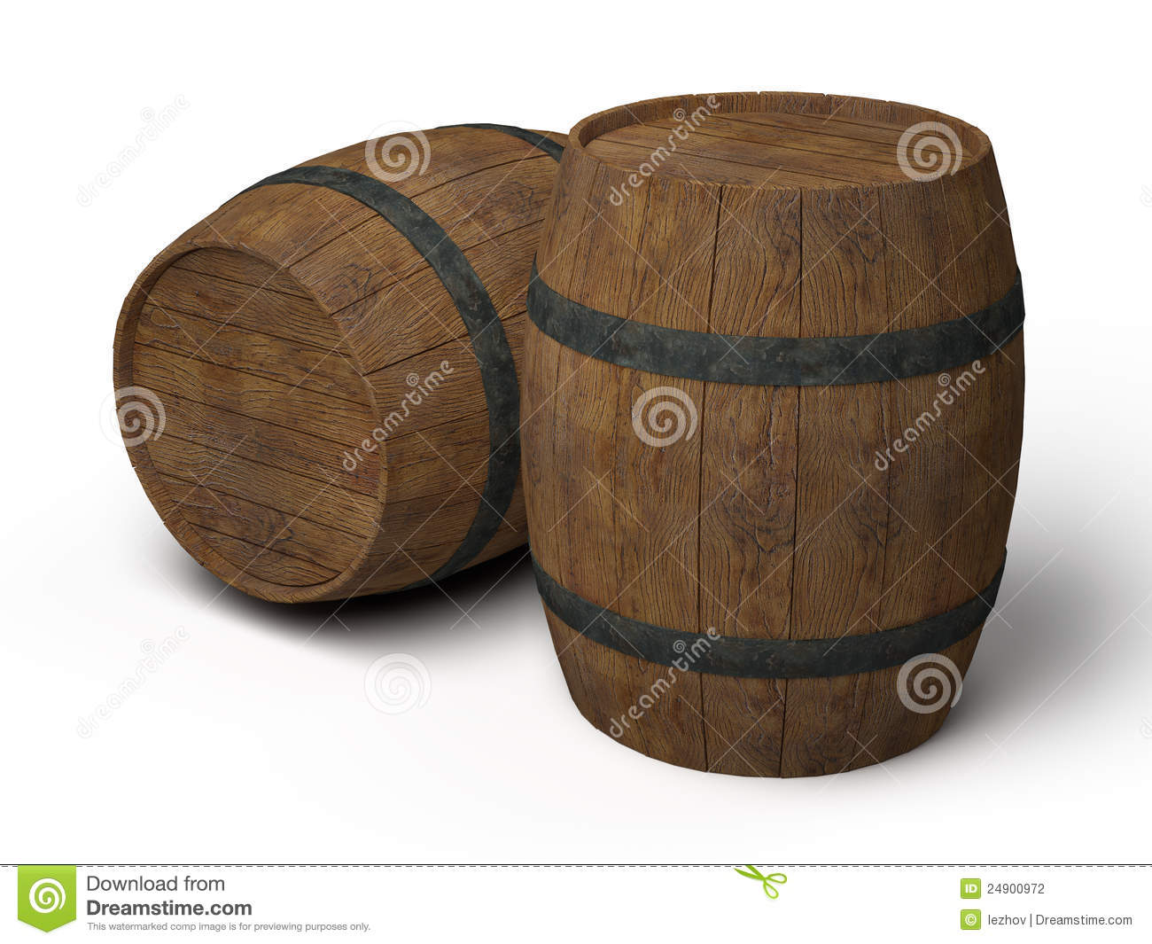 how to draw an old wooden barrel