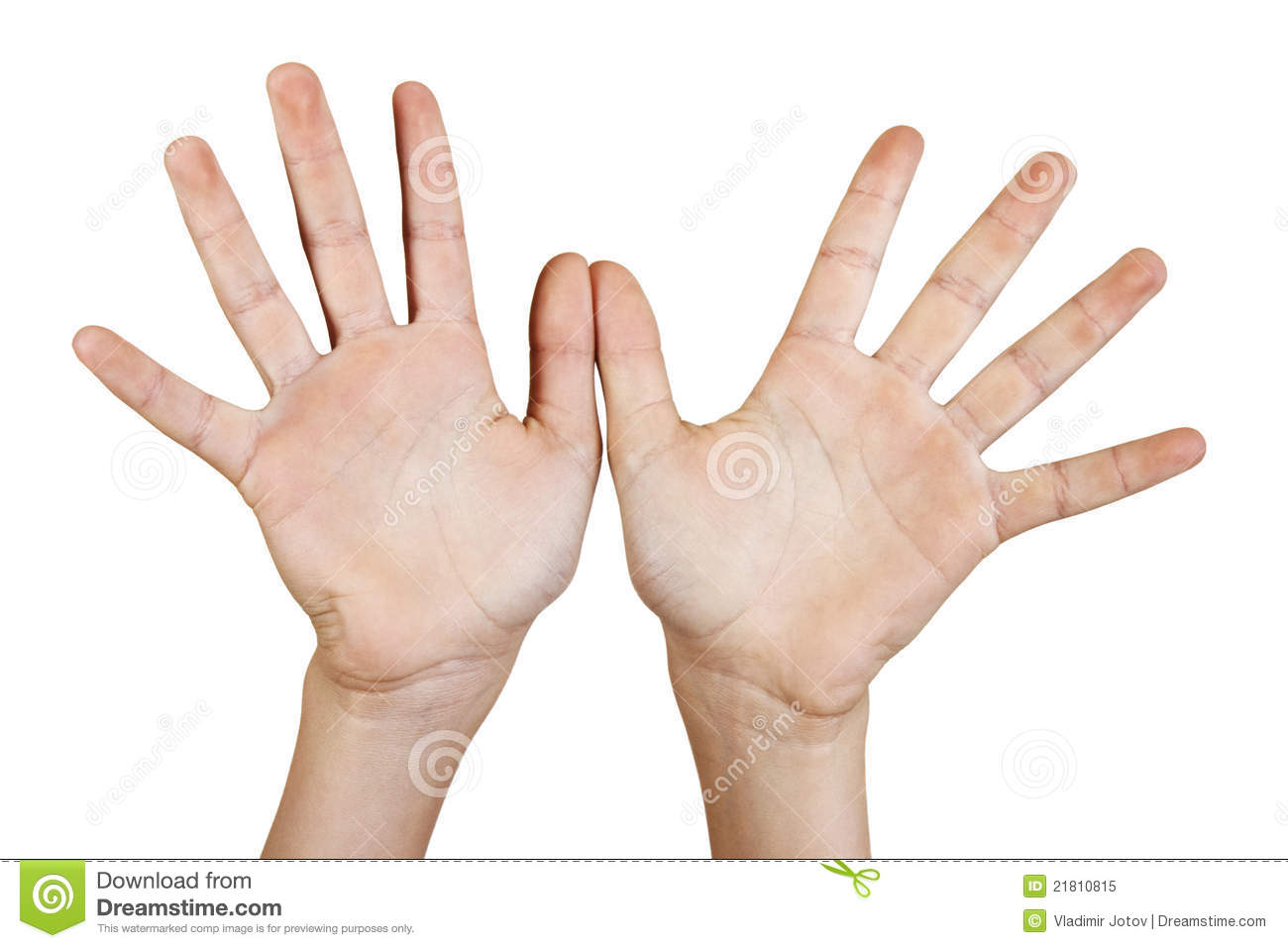 Two open hands. stock image. Image of open, reaching ...