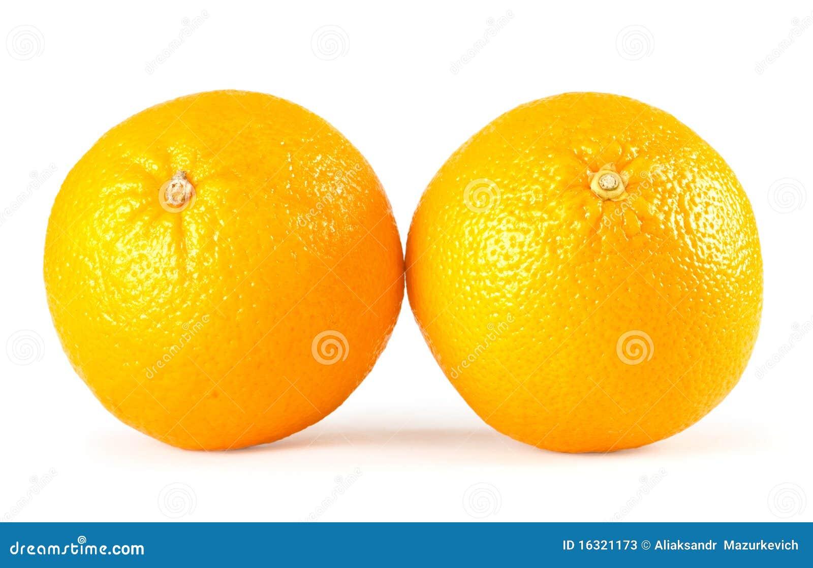 Two Oranges Stock Photos - Image: 16321173
