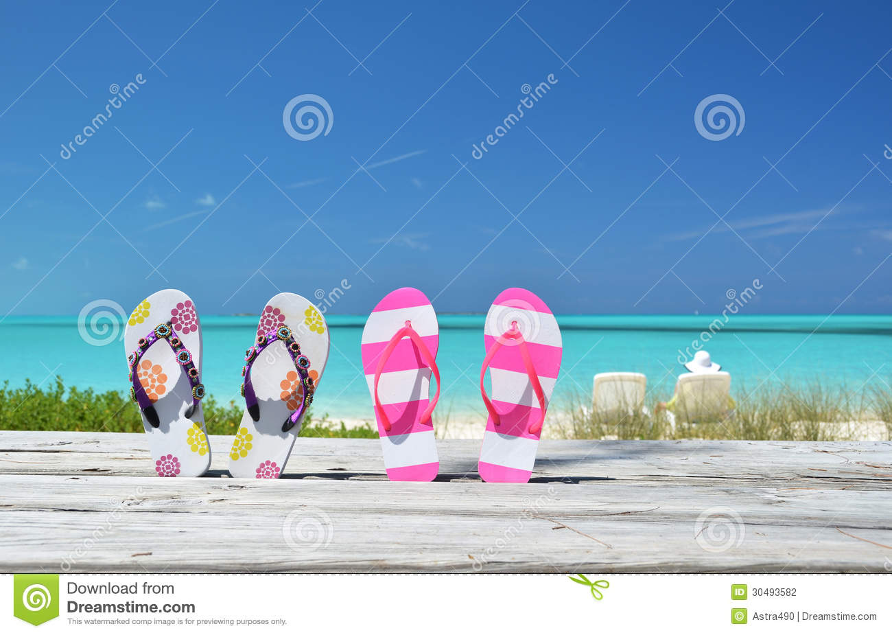 Two pairs of flip-flops