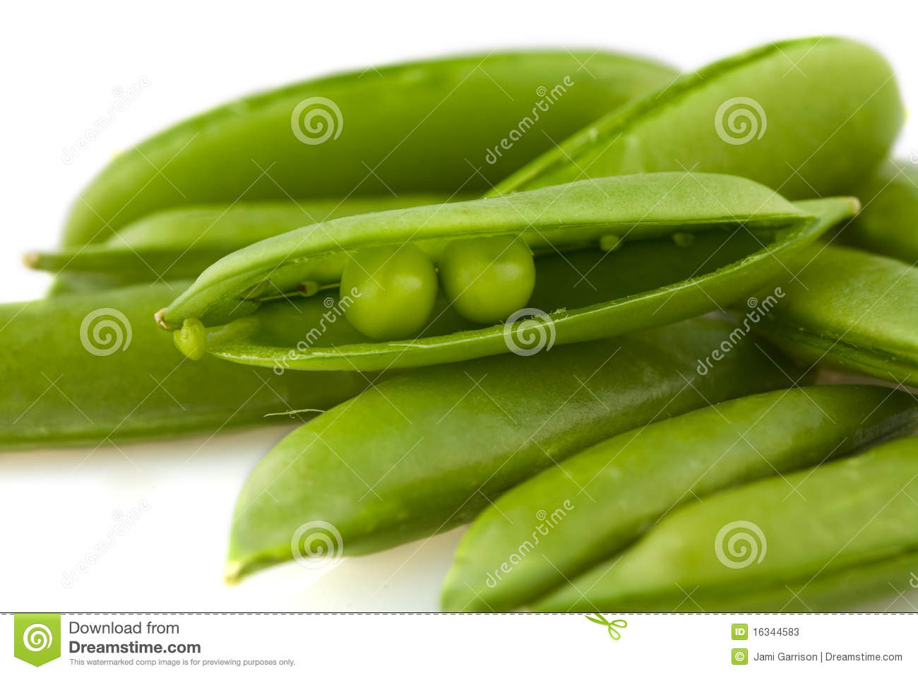 Two Peas In A Pod Stock Image Image Of Ingredient Green 16344583