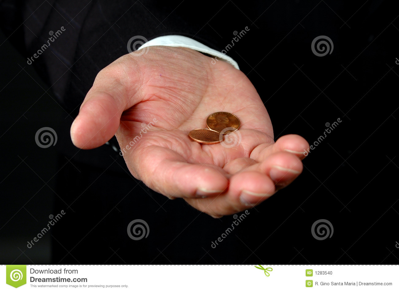 Two Pennies Worth stock photo  Image of worth, pennies - 1283540