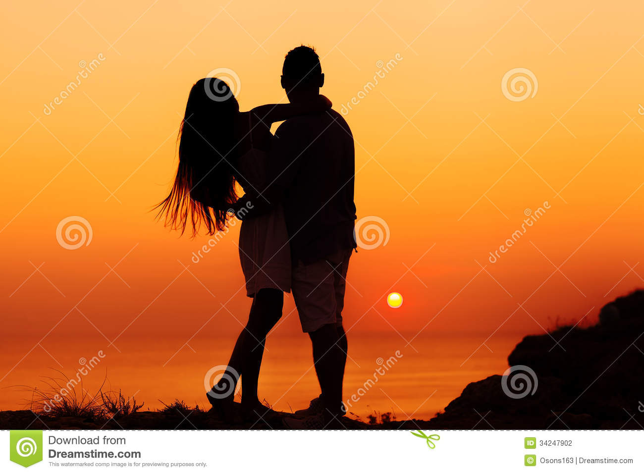Two people in love stock photo. Image of lifestyle, ocean ...