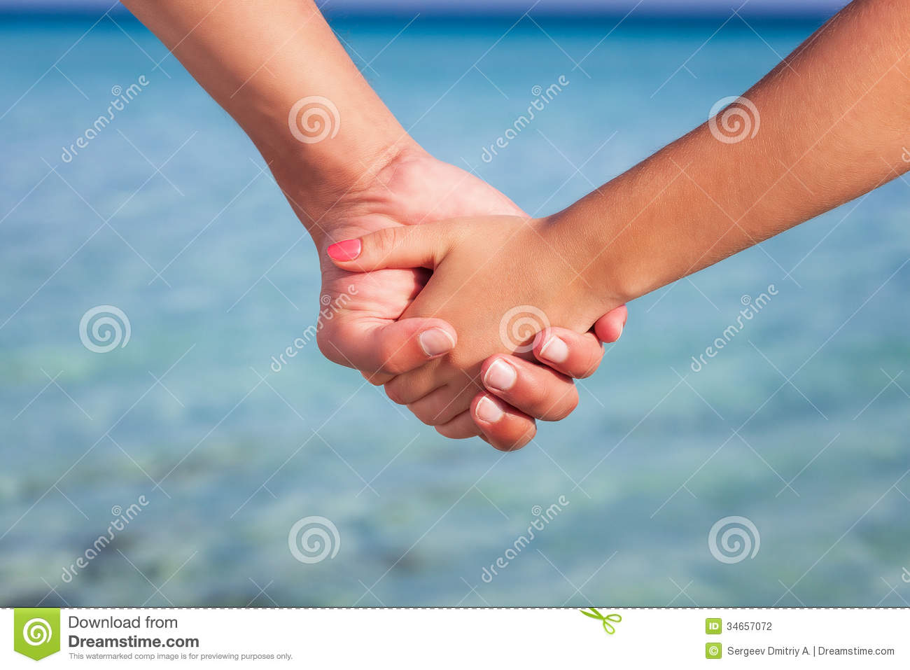 Two people's hands stock photo. Image of married, family ...