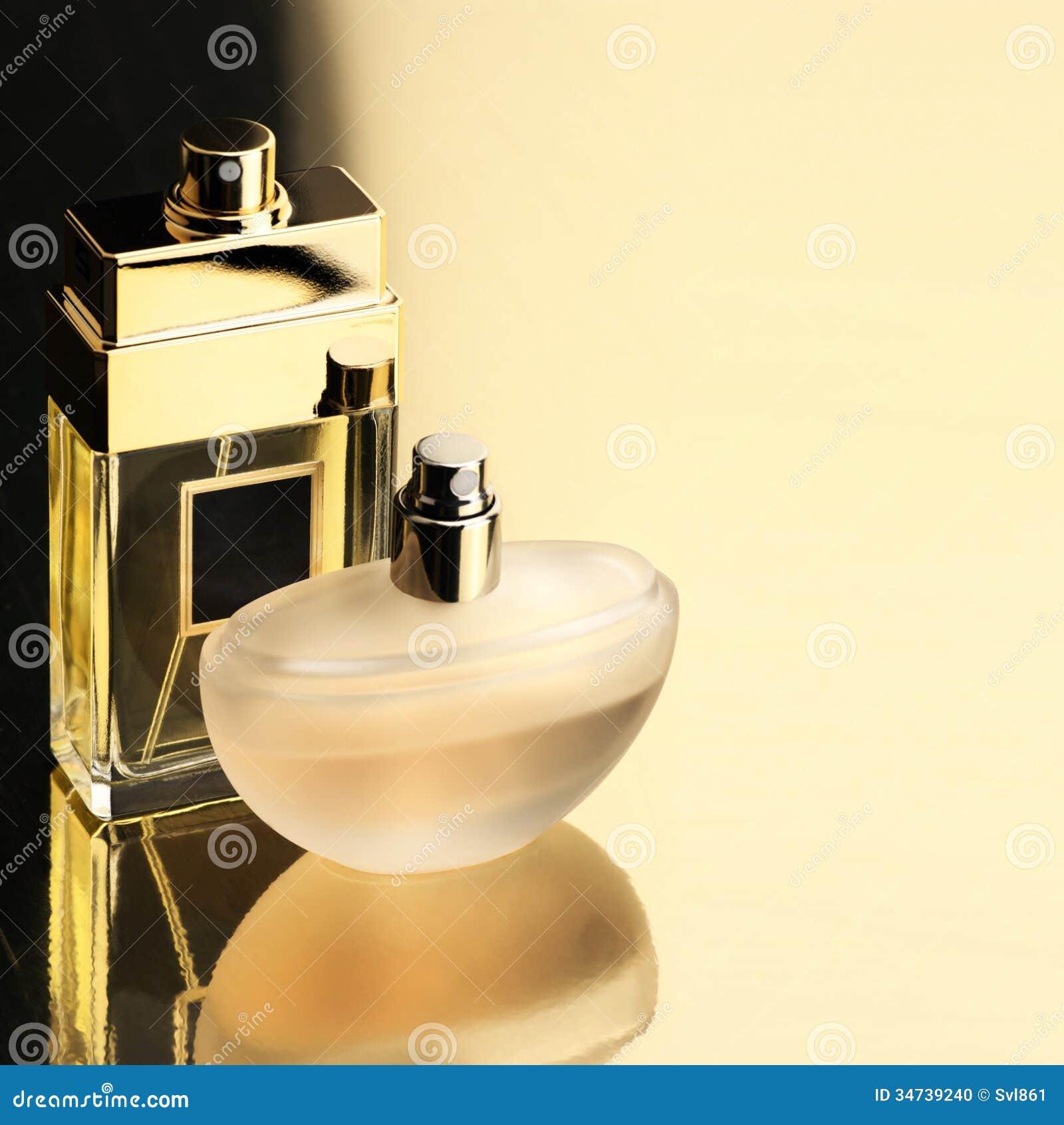 Two Perfumes Stock Photo Image 34739240