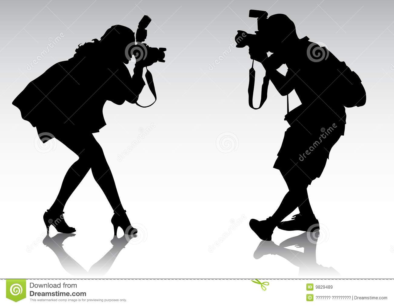 two photographer royalty free stock images image 9829489