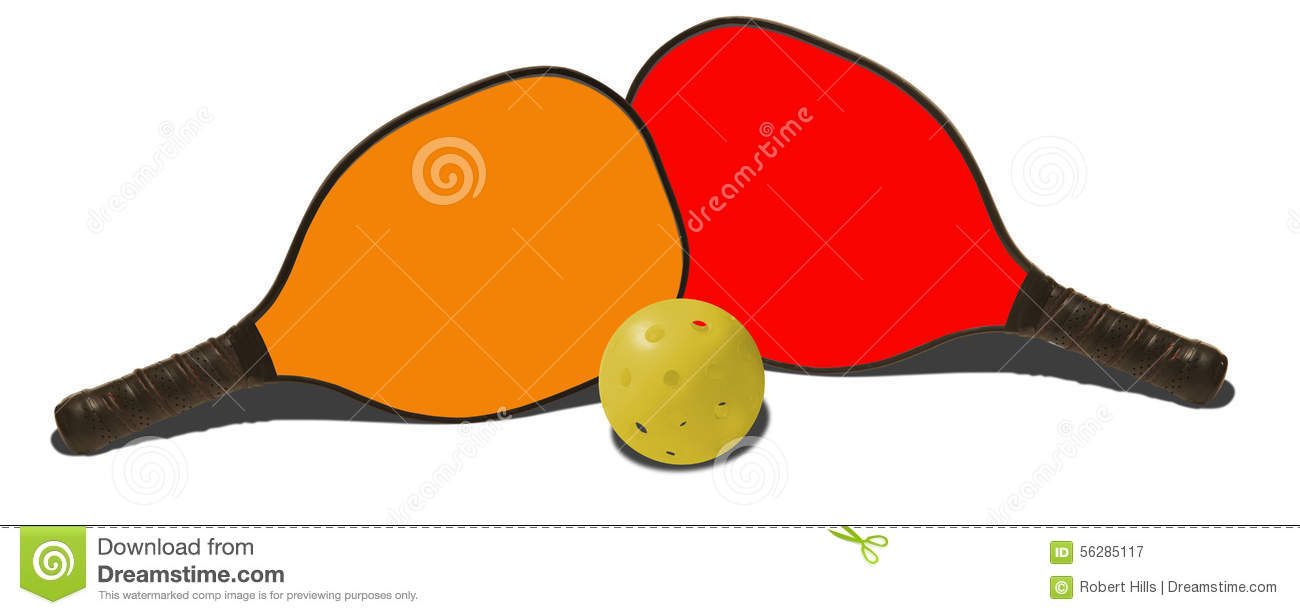 pickleball stock photos royalty free stock images rh dreamstime com pickleball clipart images pickleball paddle clipart