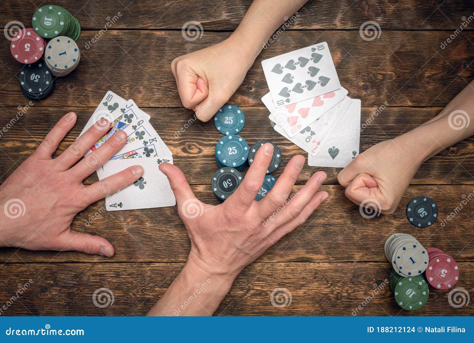 Poker Stock Photo Image Of Group Casino Heap Green 188212124
