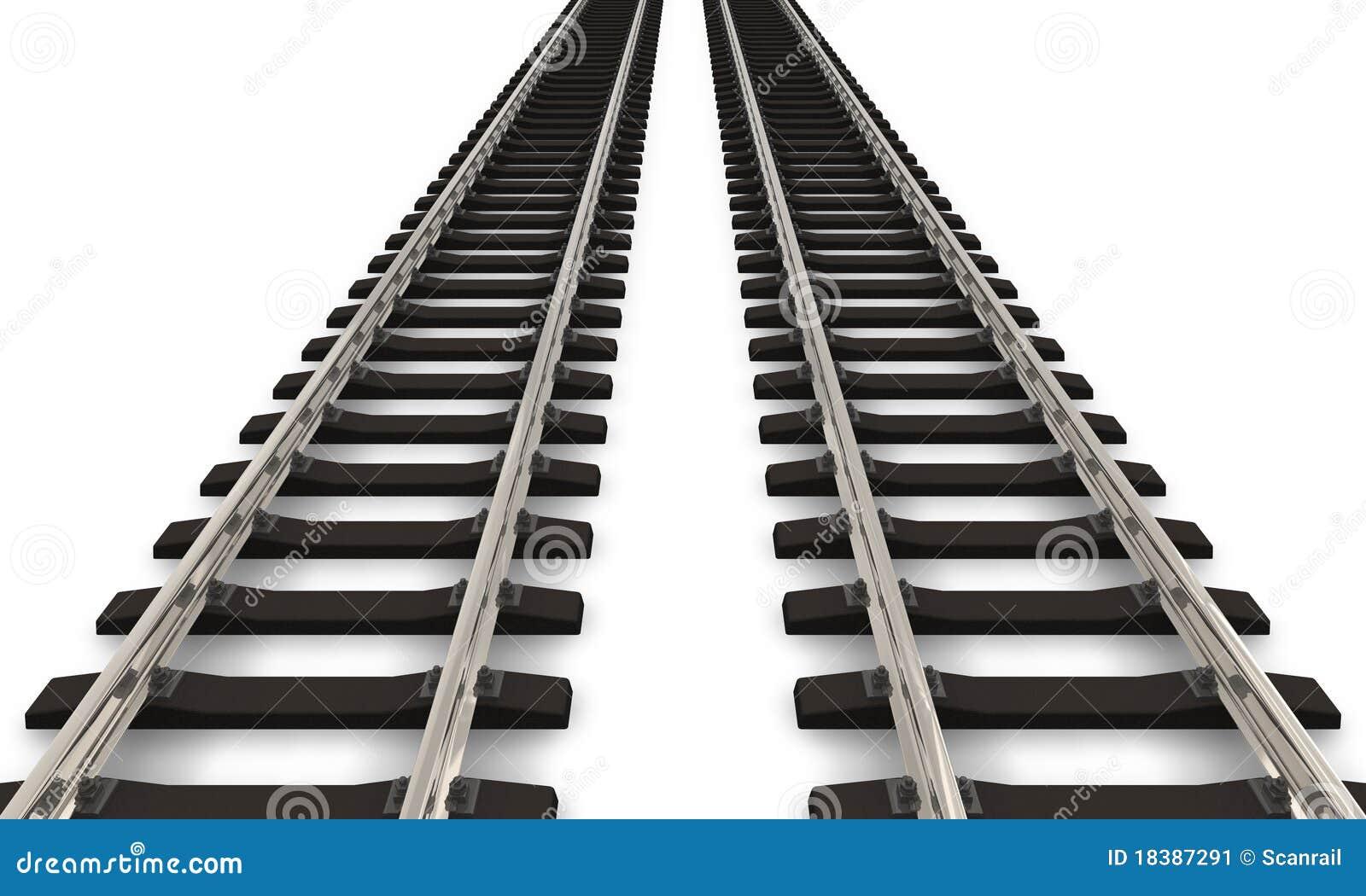 railroad tracks stock illustrations 708 railroad tracks stock rh dreamstime com Railroad Track Clip Art Black and White railroad tracks clipart black and white
