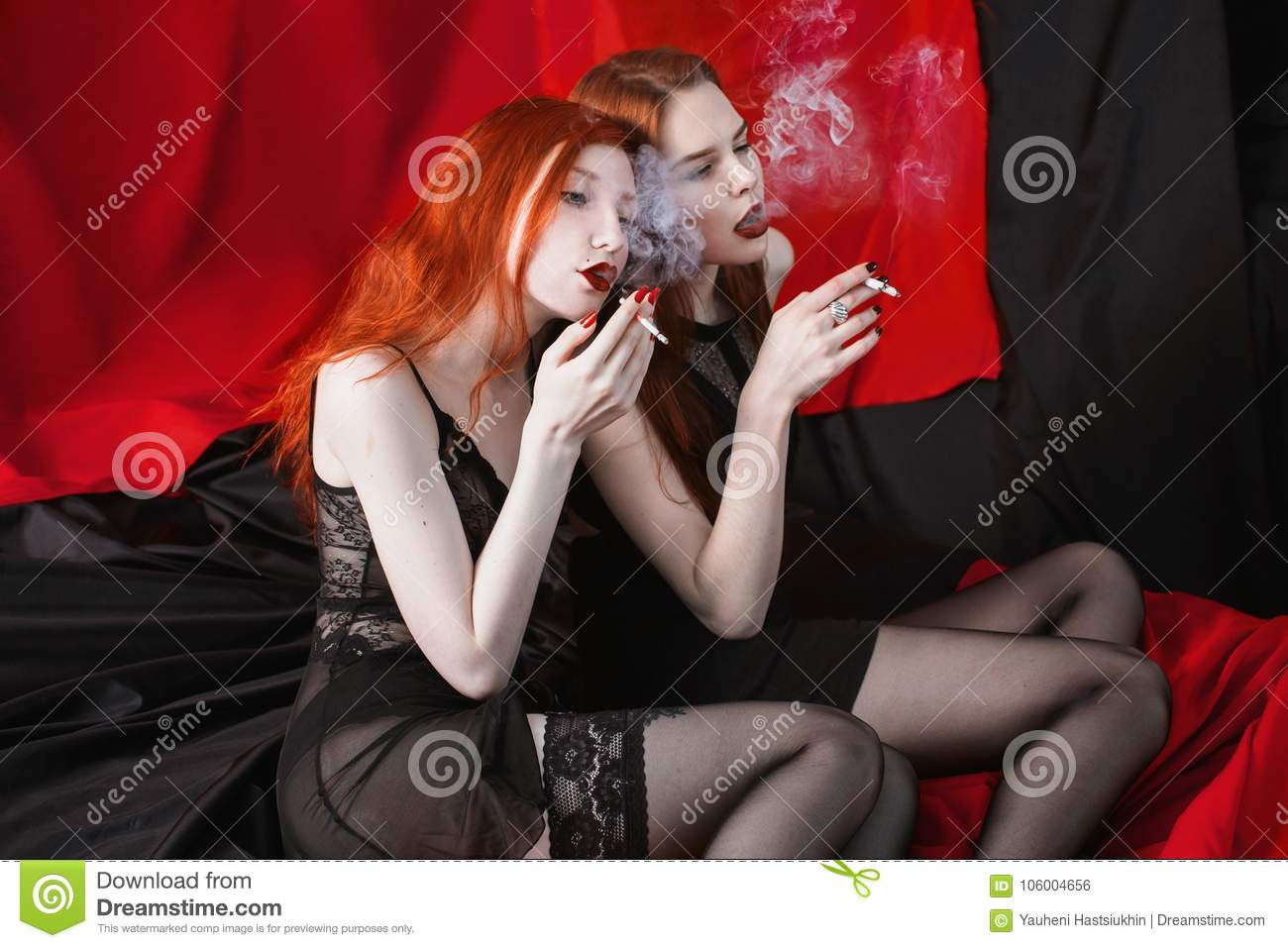 Was specially hot red head lesbian