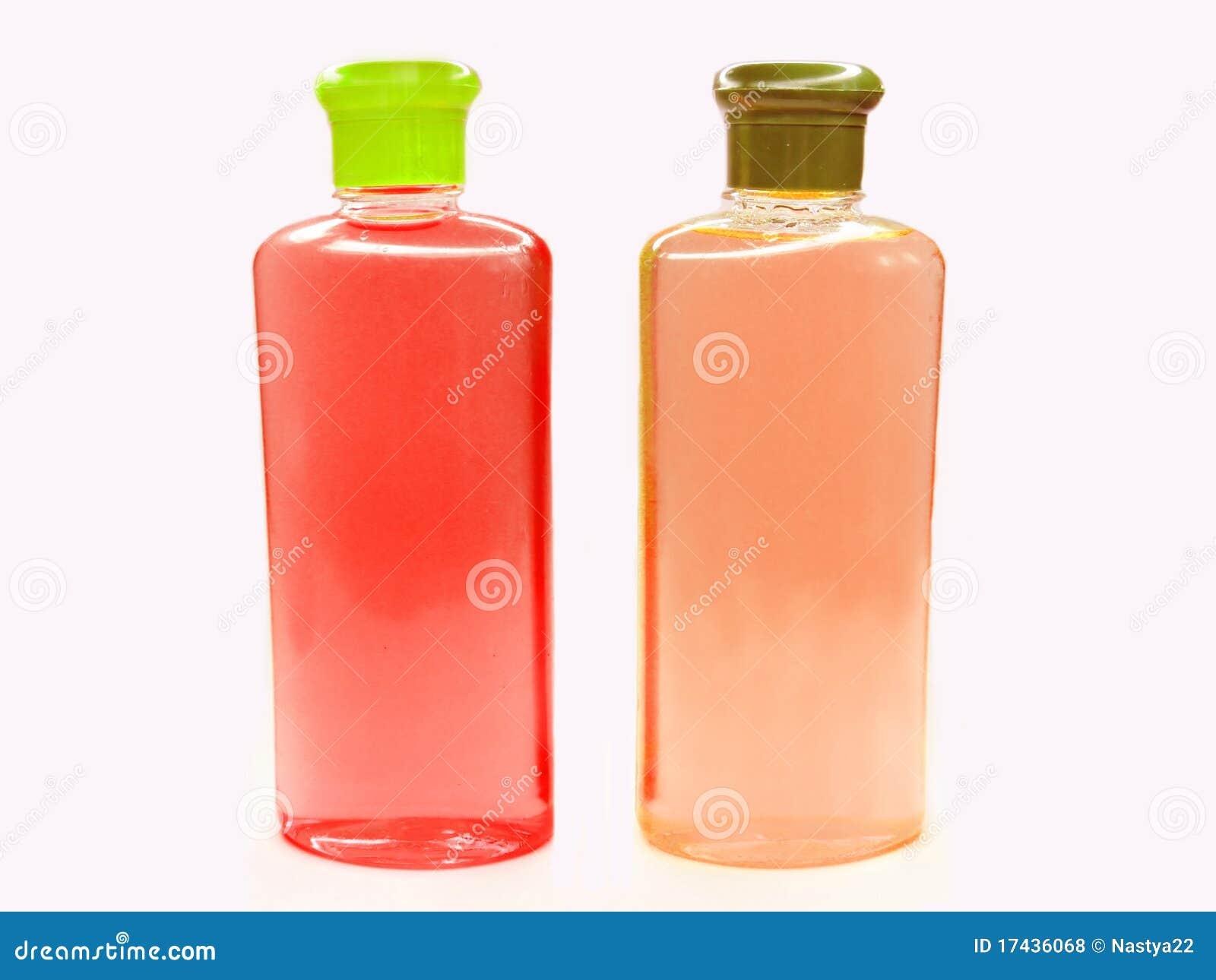 Shampoo Bottle Clip Art Two bottles of fruit shampoo