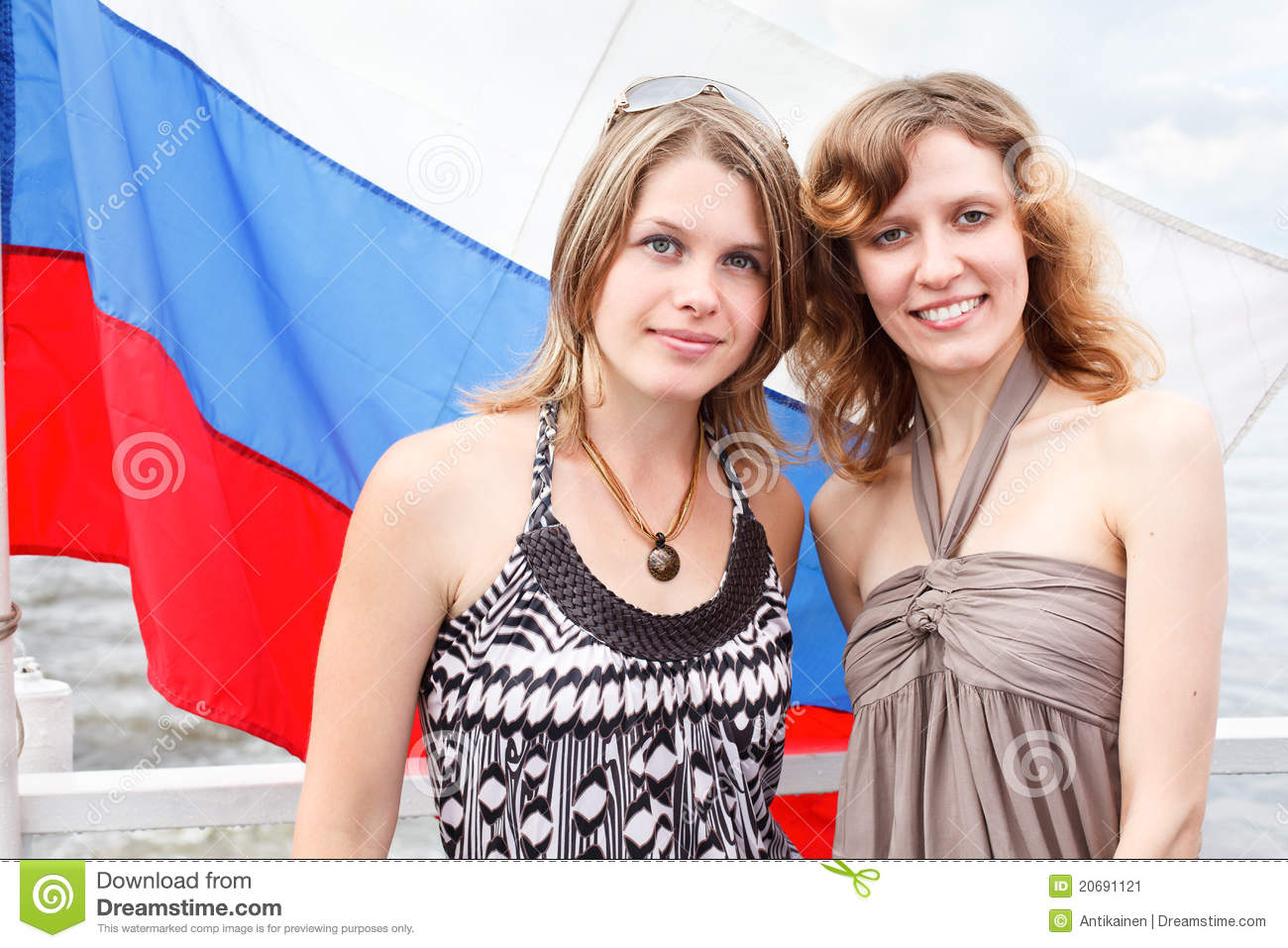 Two russian girls