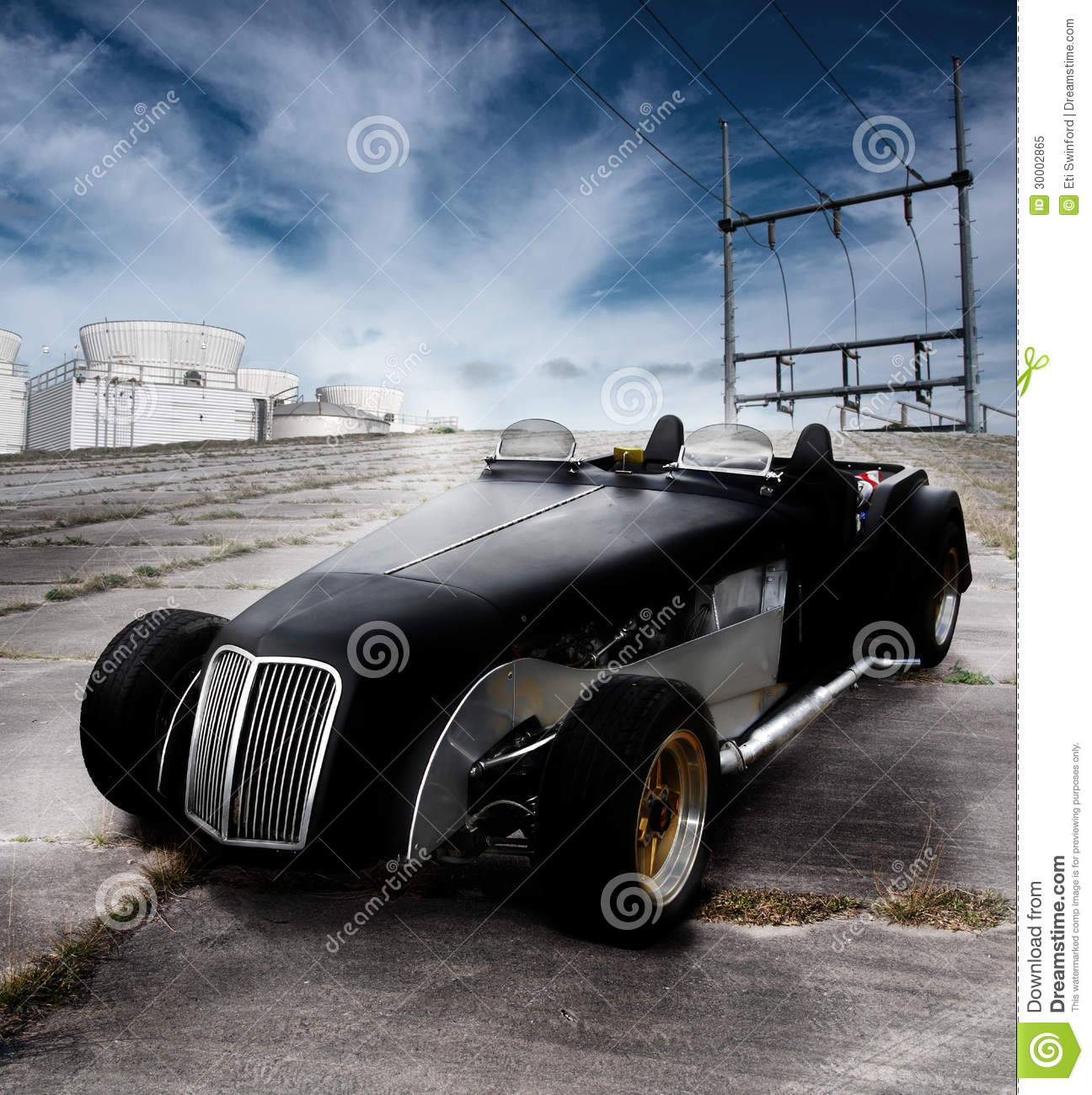 Car Roadster Classic Stock Image. Image Of Sports, Roadway