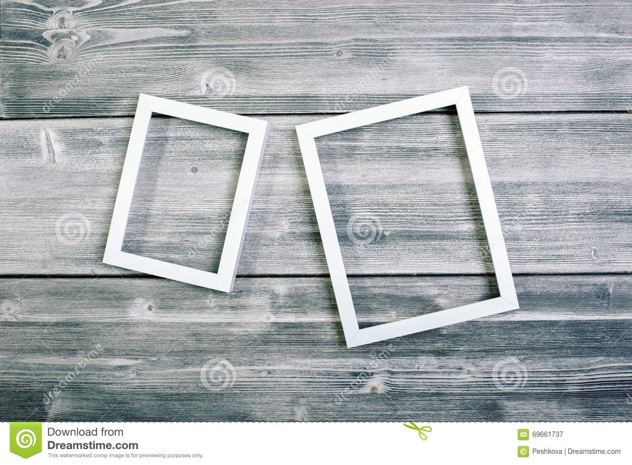 Two see-through frames stock image. Image of picture - 69661737