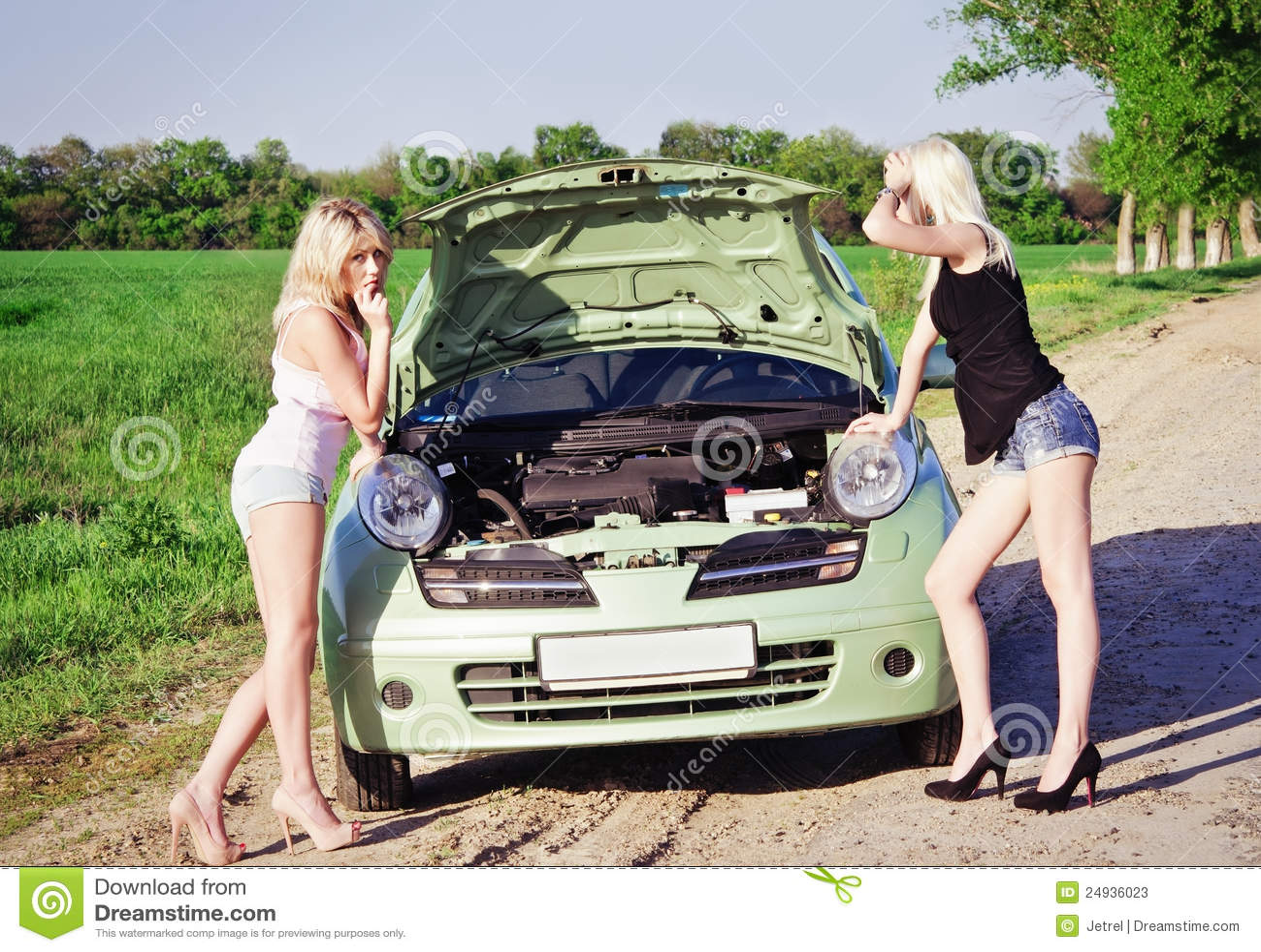 Трахнули за разбитую машину 11 фотография