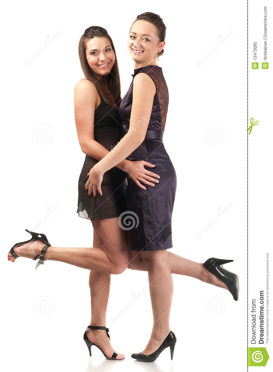 Two Sexy Women Together Royalty Free Stock Photo Image