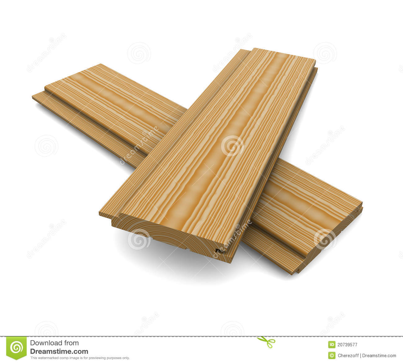 Two short wooden planks on a white background royalty free - Tablones de madera baratos ...