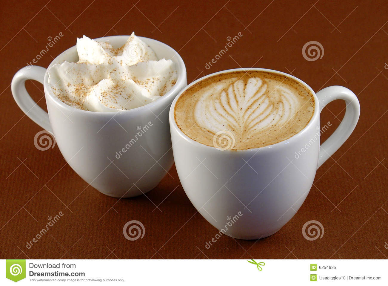 Download Two Shots stock image. Image of beverage, java, espresso - 6254935