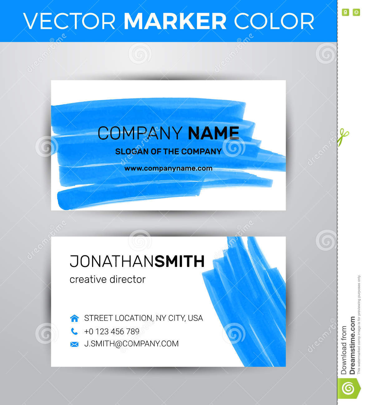Top result 60 beautiful 2 sided business cards templates free two sided business card template black paint strokes markers creative 75400148 top result 60 beautiful 2 wajeb Image collections