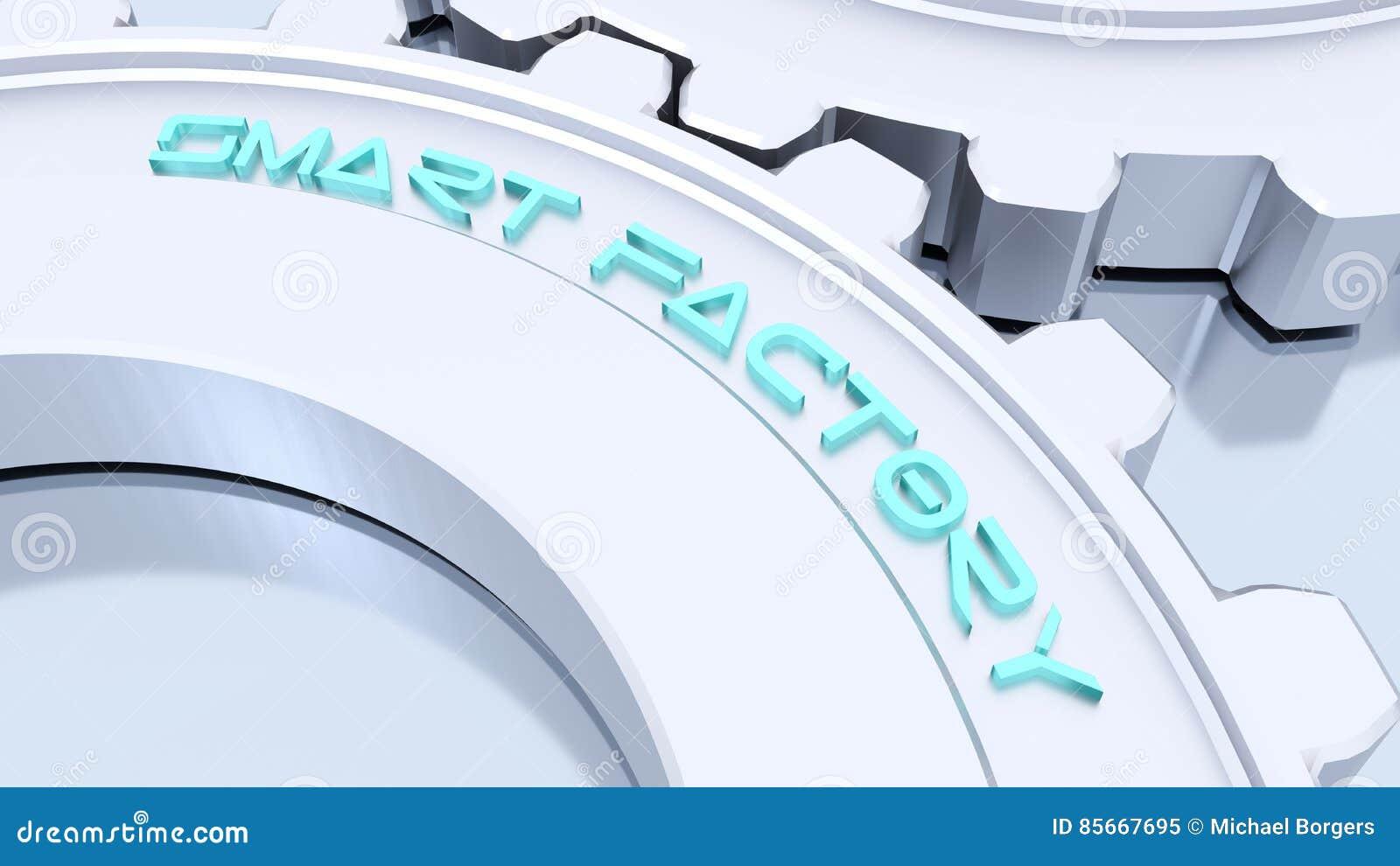 Smart industry concept cartoon vector for Dreamhome com