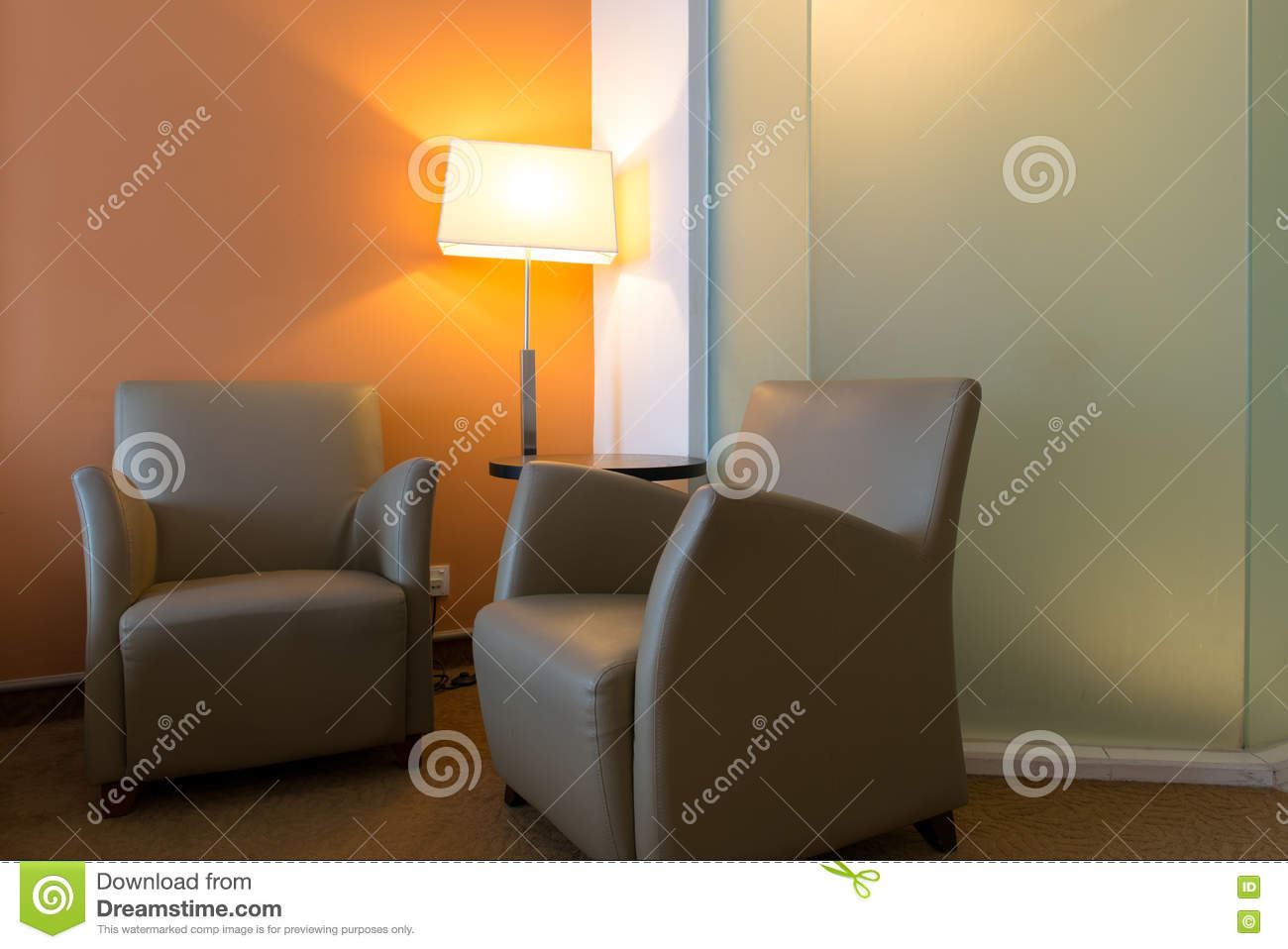 Two Single Sofa In Bedroom Stock Image Image Of Interior 77350349