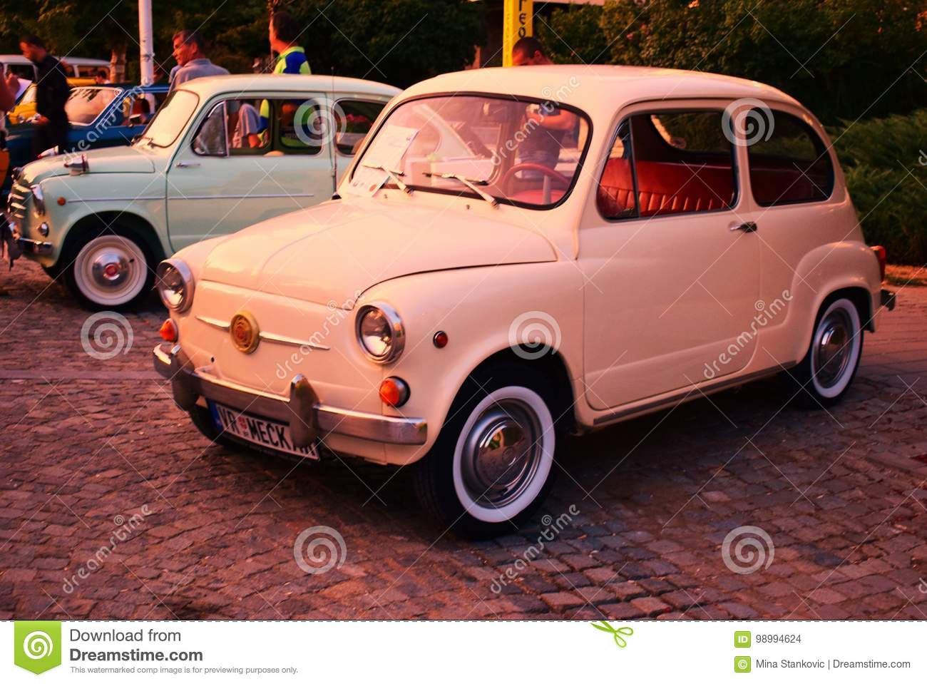 Two small cars stock photo. Image of cars, color, trip - 98994624