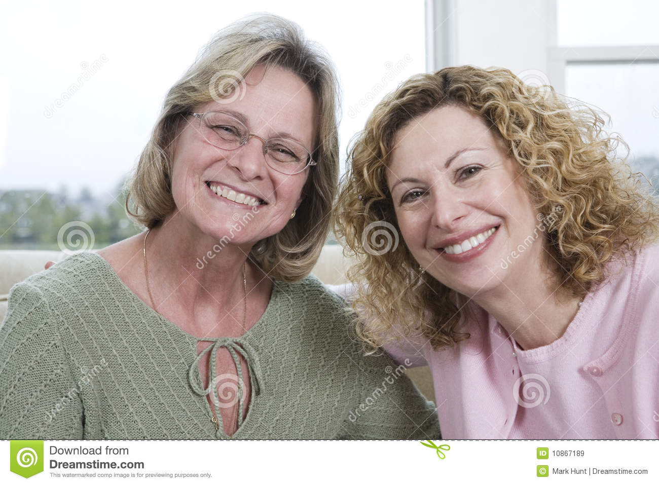 Two Smiling Women Royalty Free Stock Images - Image 10867189-8156