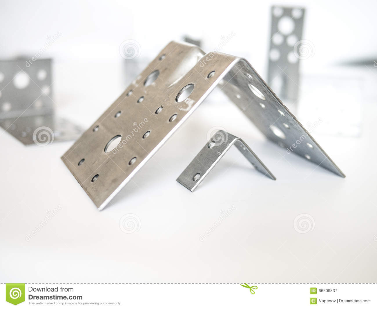 Perforated fasteners 61