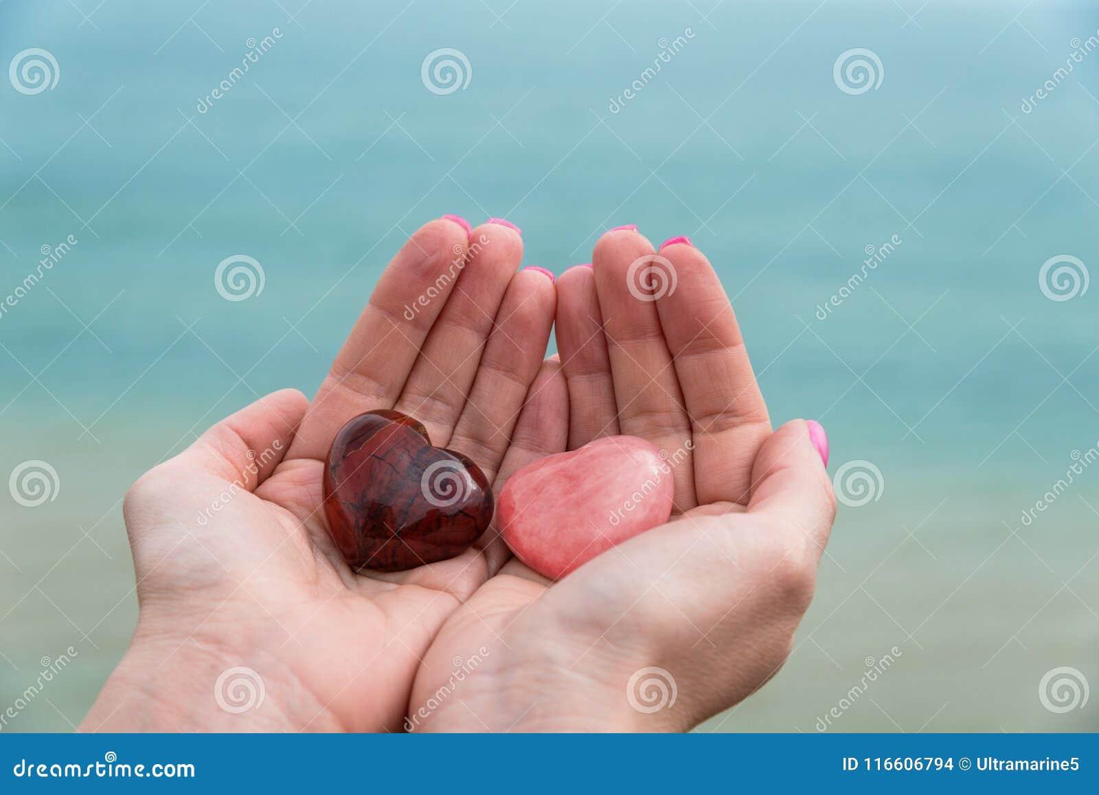 Stone Hearts Woman