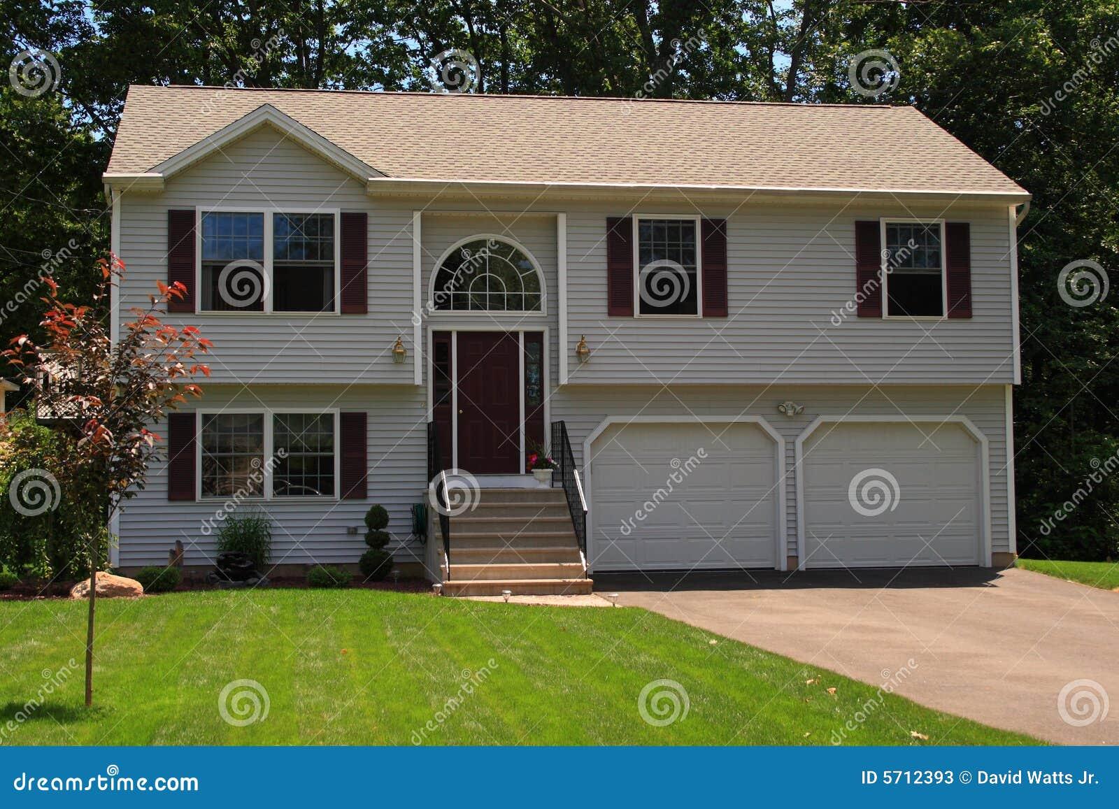 two story single family house stock photos image 5712393