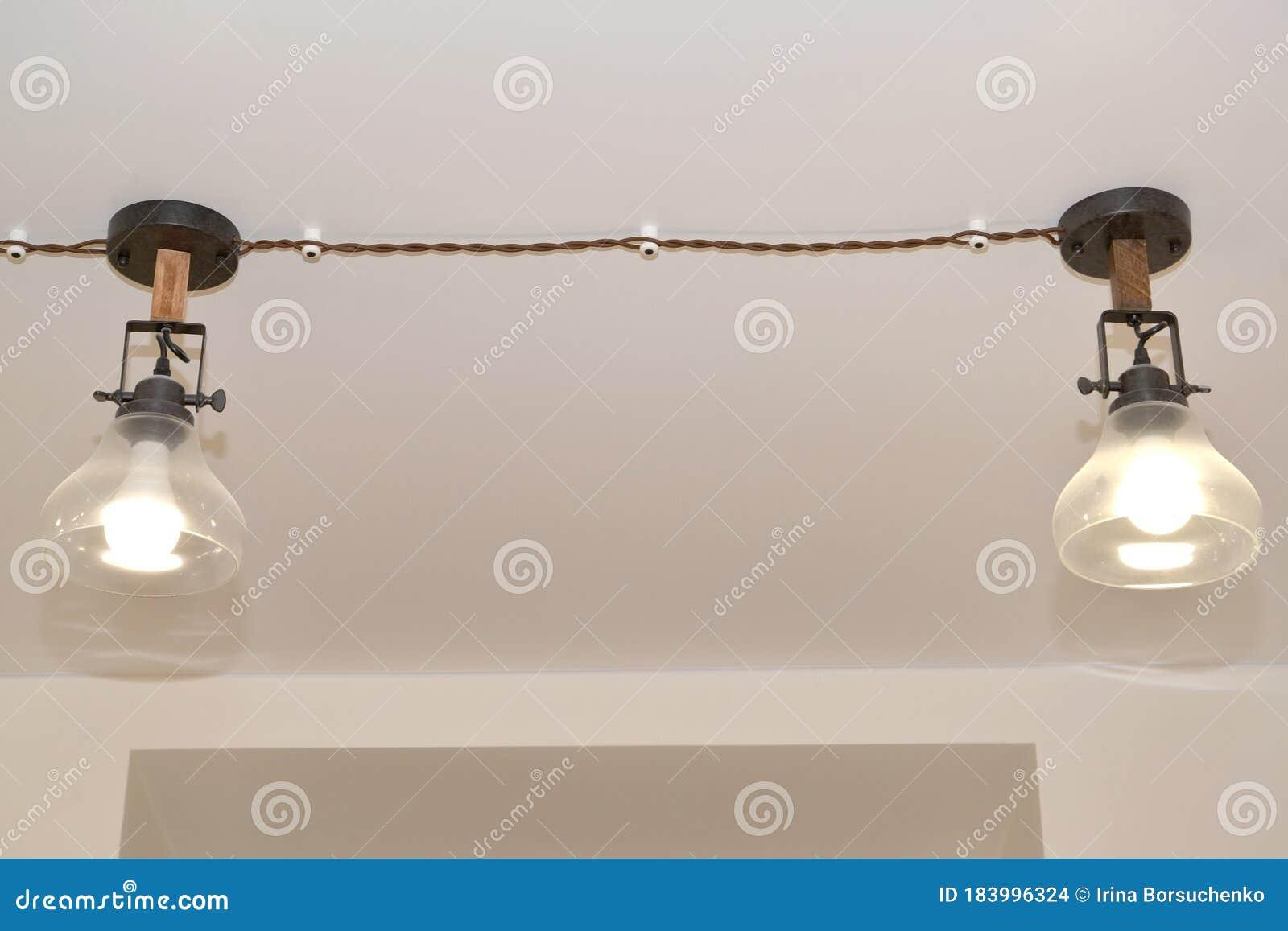 Two Suspended Retro