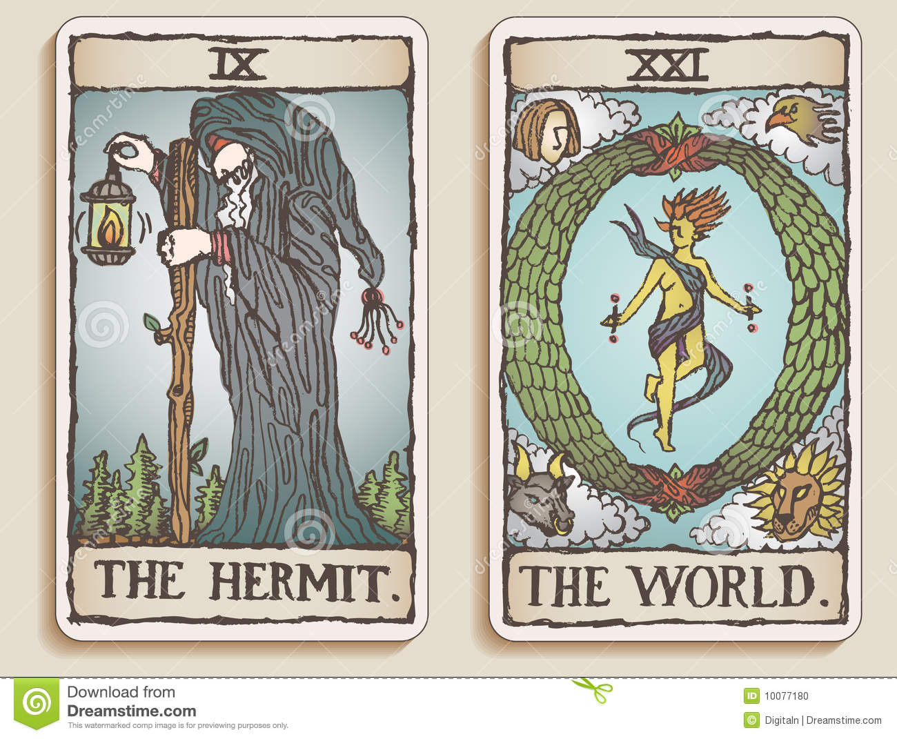 Travel Tarot Cards