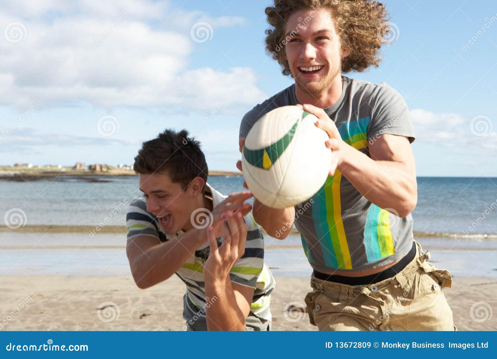 naked teen men on the beach