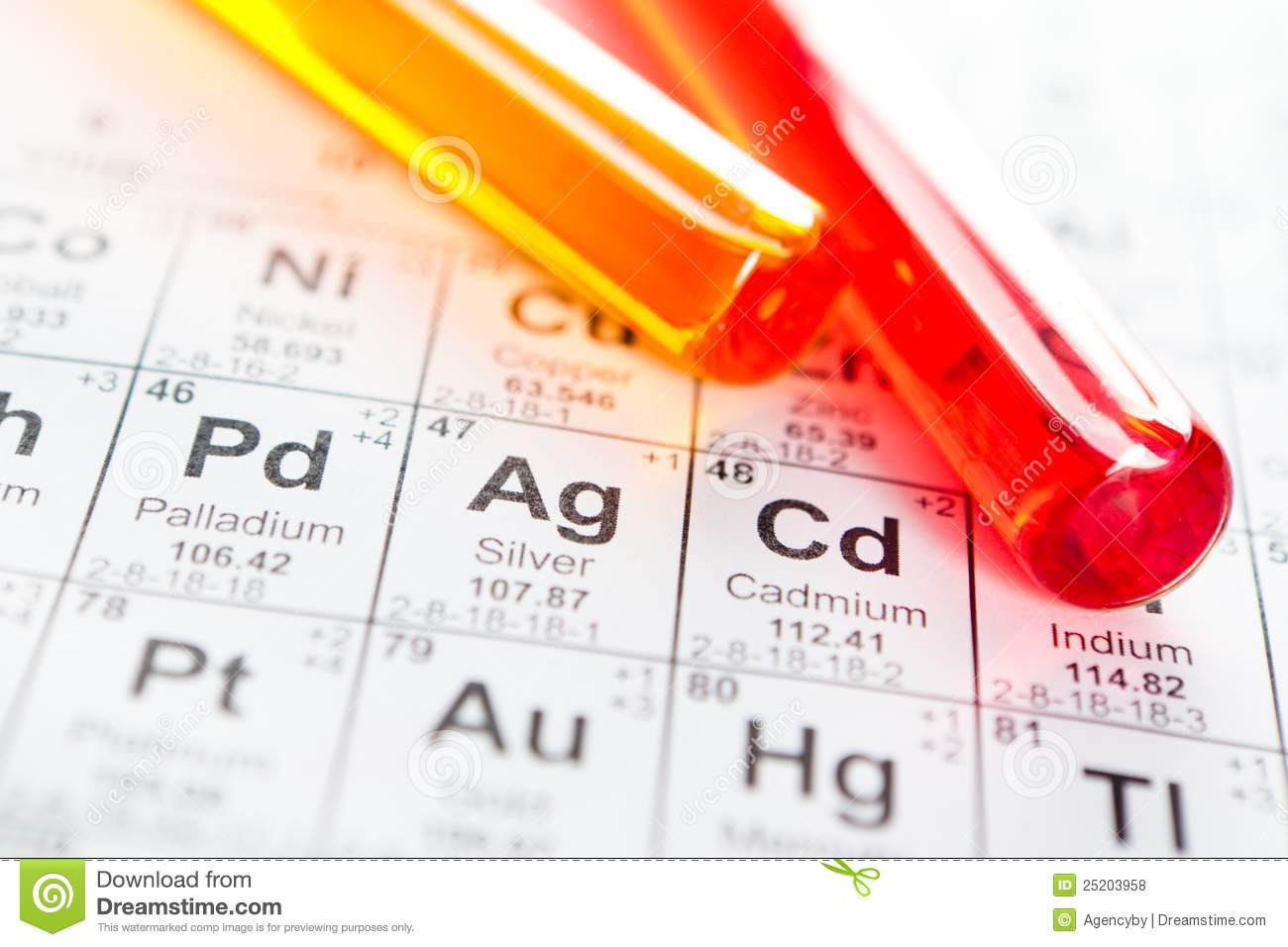 Two test tubes closeup on the periodic table stock photo image royalty free stock photo download two test tubes closeup on the periodic table gamestrikefo Choice Image