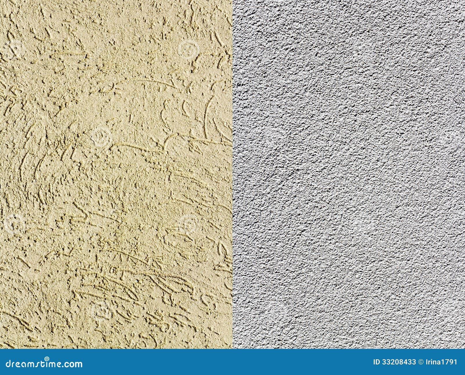 Textured plaster