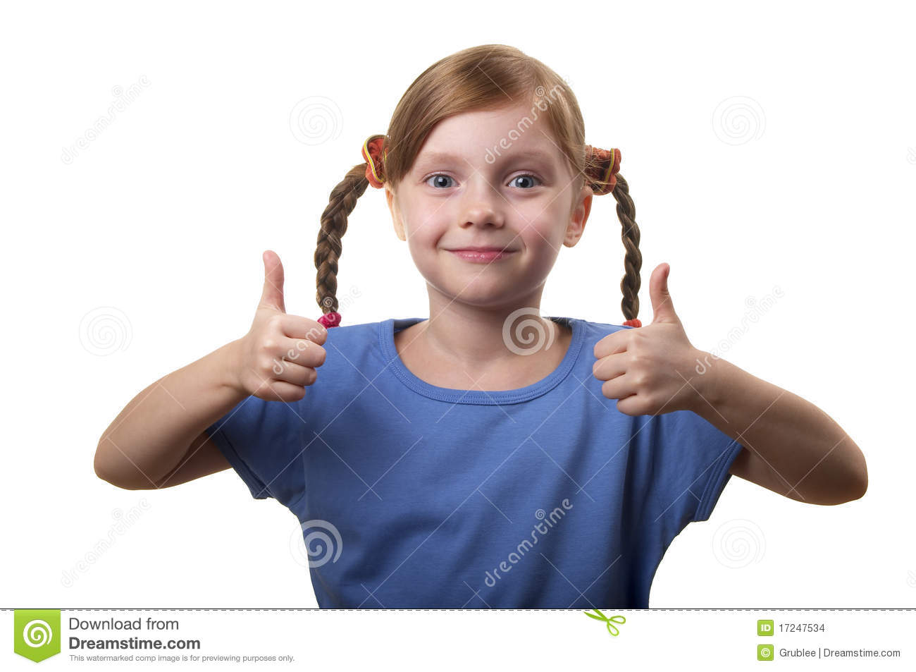 Two Thumbs Up! Stock Images - Image: 17247534