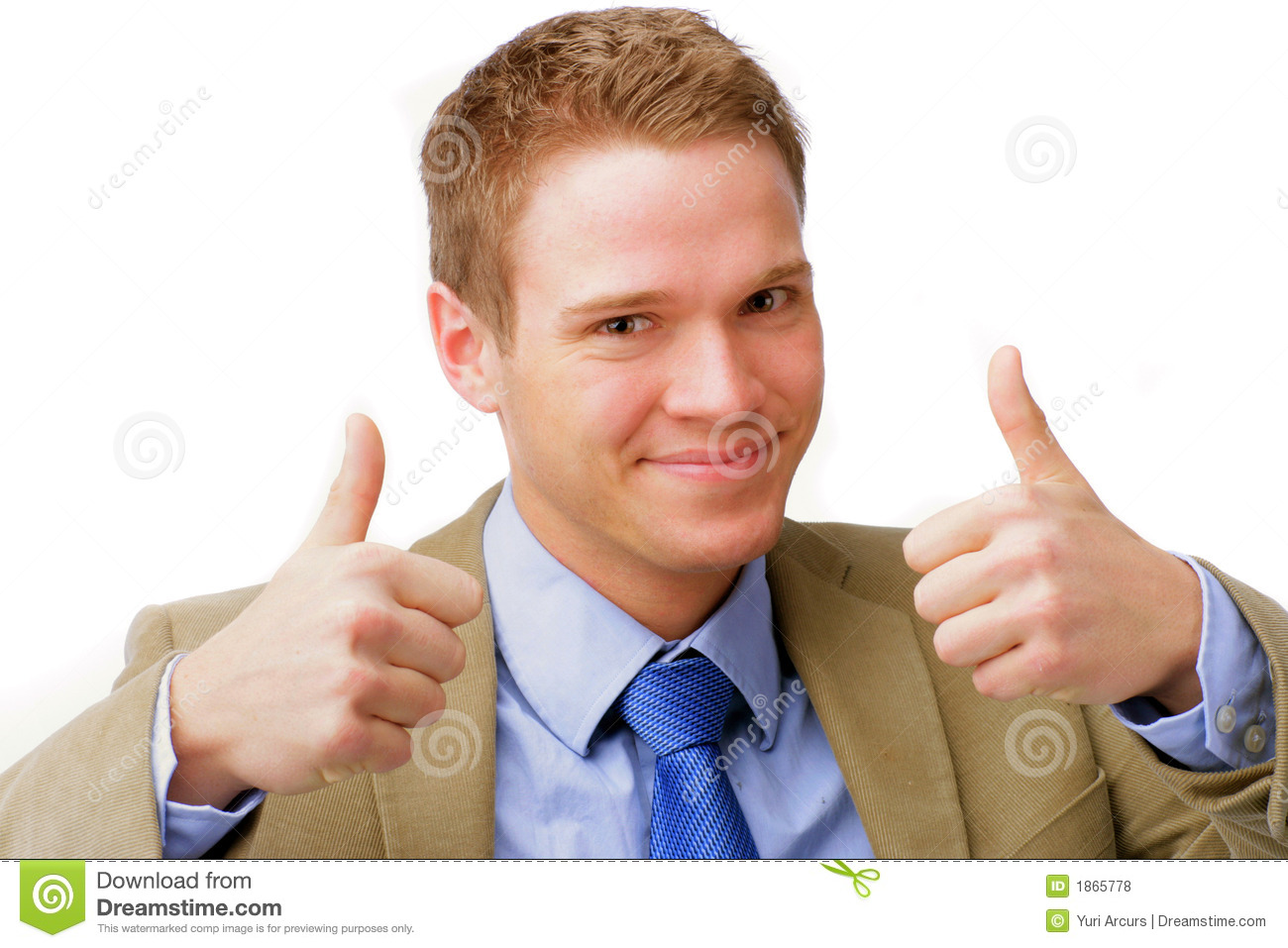 Royalty Free Stock Photos: Two Thumbs Up!. Image: 1865778