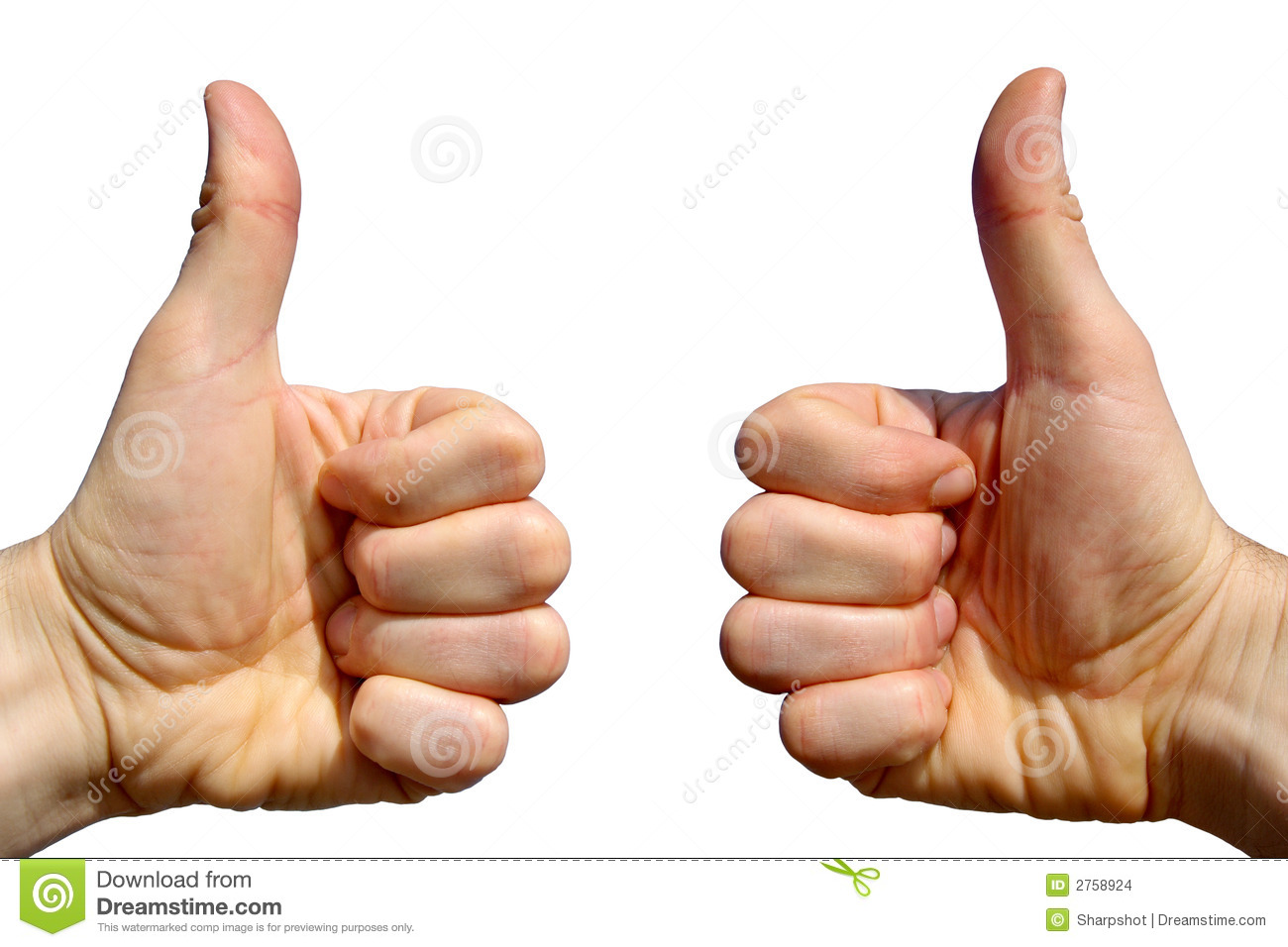 Two Thumbs Up. Stock Images - Image: 2758924 Happy Child Clipart