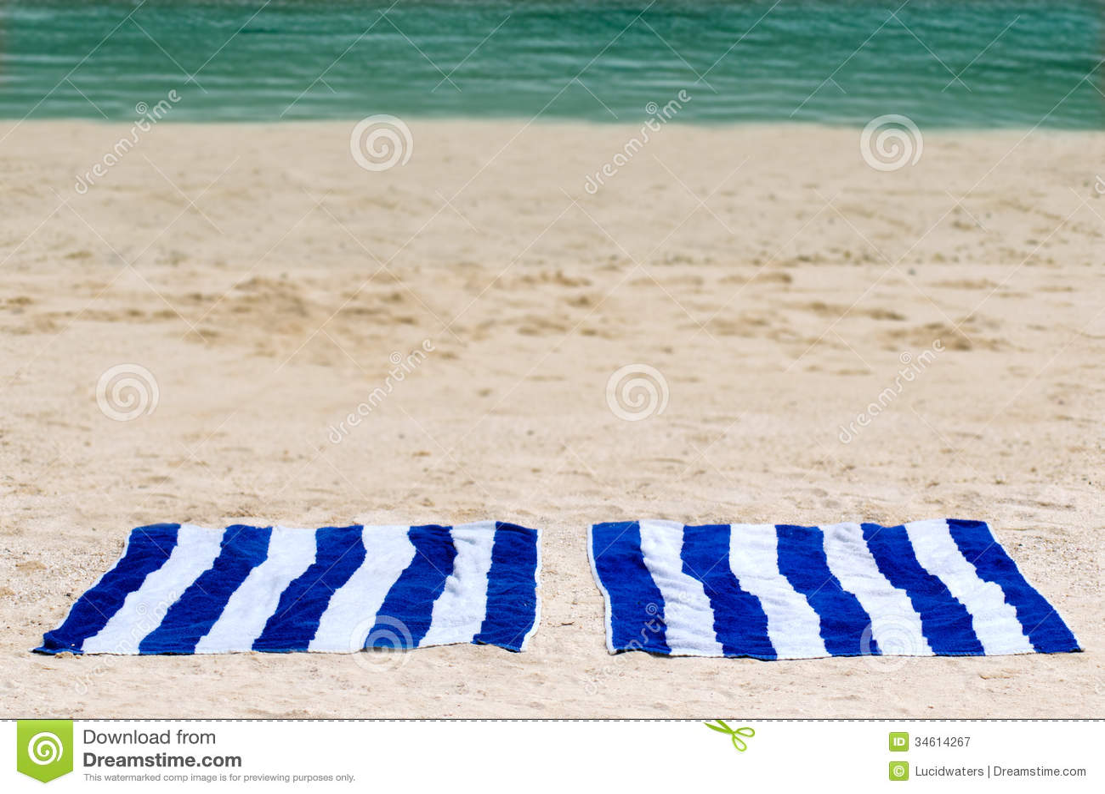M S Beach Towels