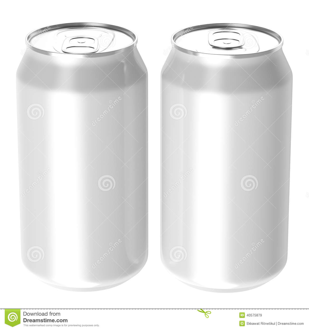 Blank Beer Can Png Two white beverage drink cans