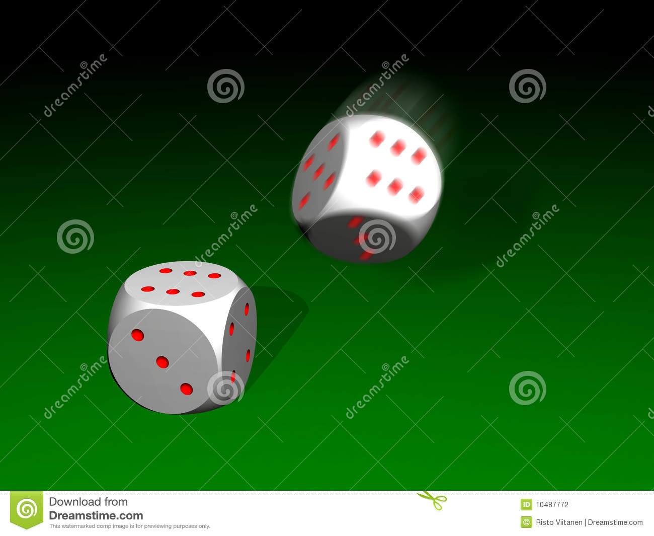 two white dice with red dots stock illustration illustration of