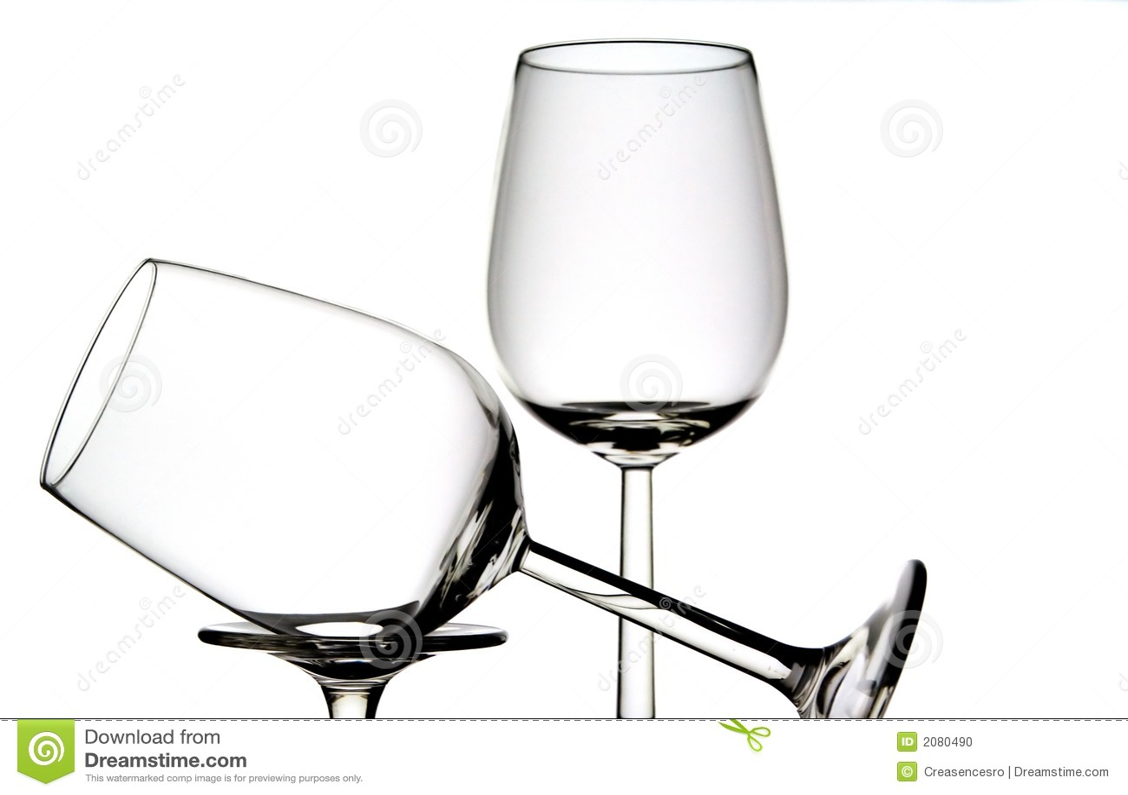 Curve White Wine Glass